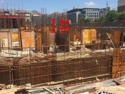 银湖义安学府1#楼16年8月进度图(2016.8.16)