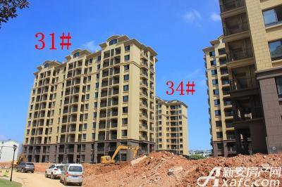 天景庄园31#、34#楼项目进度(2016.8.10)