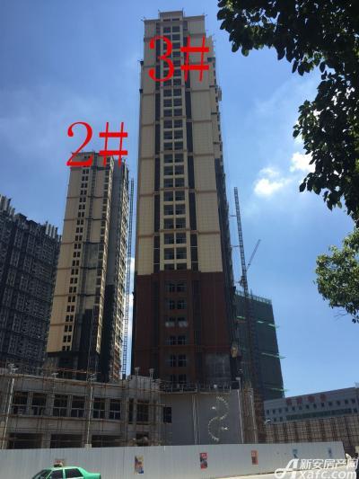 中航长江广场2#、3#楼16年8月进度图(2016.8.11)