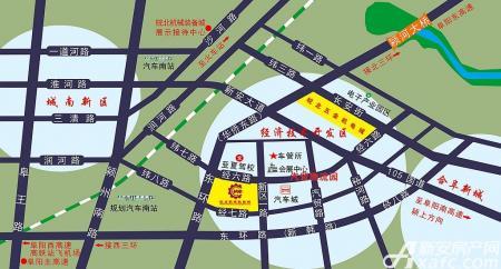 皖北机械装备城交通图