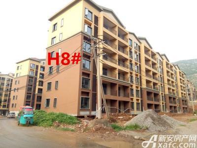 淮北凤凰城8月进度:H8#