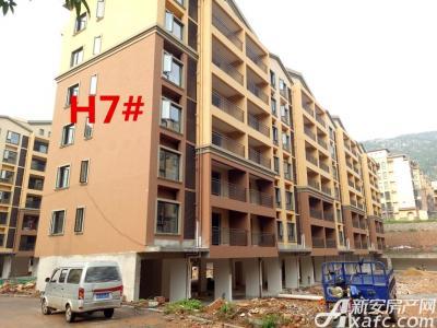 淮北凤凰城8月项目进度:H7#