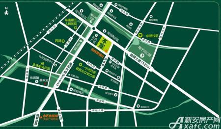 金马清华园交通图