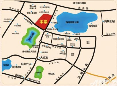公园道壹号交通图