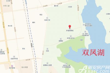 新慧御湖城交通图