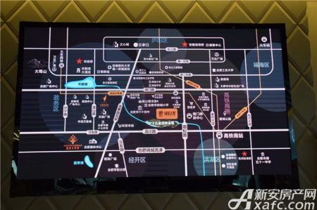 国贸天悦交通图