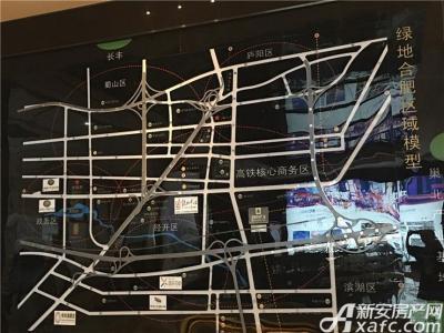 绿地御徽交通图