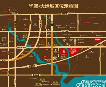 华盛大运城•东嶺交通图