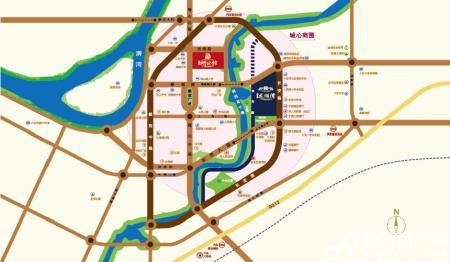 徽盐龙湖湾交通图