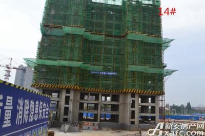 秀山信达城14#楼工程进度(2016-9-06)