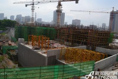 秀山信达城工程进度现场(2016-9-06)