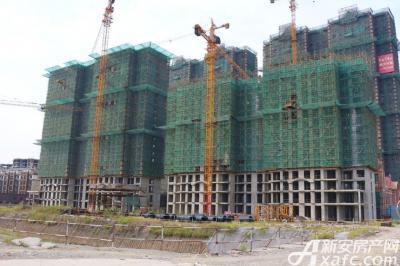 聚泽园·淮海学府3#4#工程进度(2016.9)