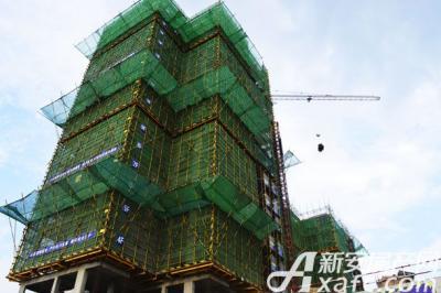 梅林国际梅林国际施工2#已封顶