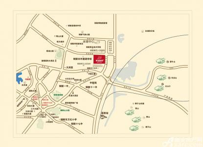 静湖家园交通图