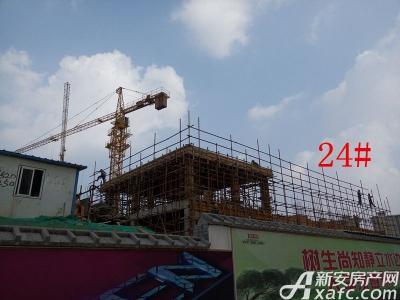 天景庄园24#楼项目进度(2016.9.18)