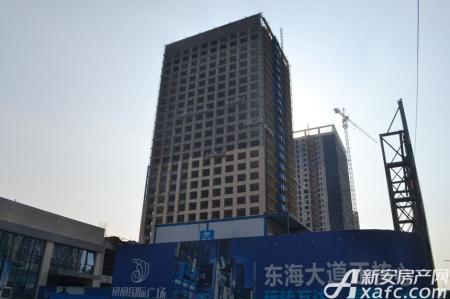 凤凰国际广场工程进度