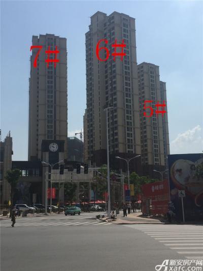 中航长江广场5#、6#、7#楼9月份进度图(2016.9.20)