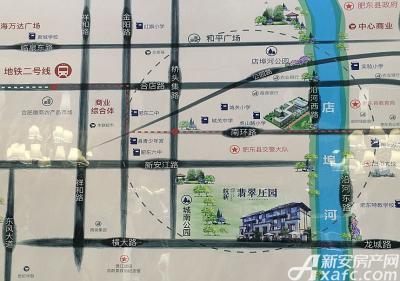 皖新翡翠庄园区位图