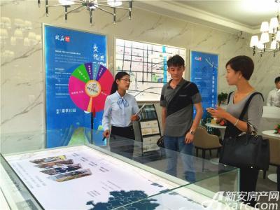 皖新翡翠庄园临时售楼部开放(2016.9.16)