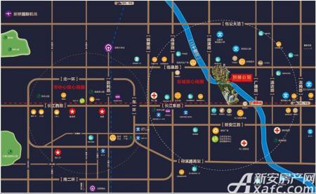 海尔地产·智慧公馆交通图