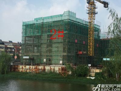 银湖义安学府2#楼9月份项目进度图(2016.9.22)