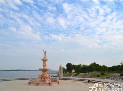 新慧御湖城实景图