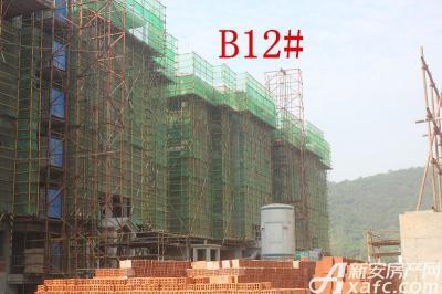 地矿龙山湖苑B12#楼项目进度(2016.9.26)
