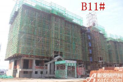 地矿龙山湖苑B11#楼项目进度(2016.9.26)