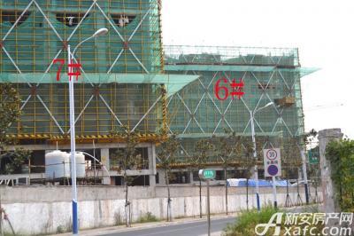 融创城6#7#楼工程进度(2016.09.14)