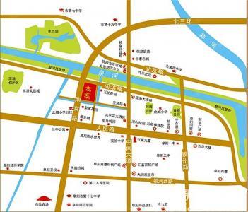 天章和园交通图