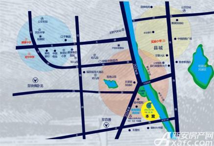 淮海清水湾交通图