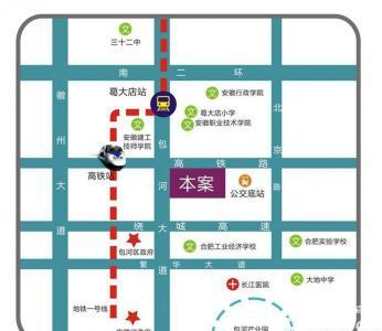 美生新悦城交通图