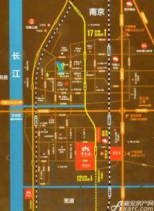东誉城交通图