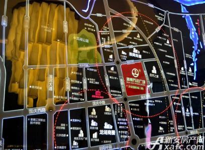 淮南万达广场交通图