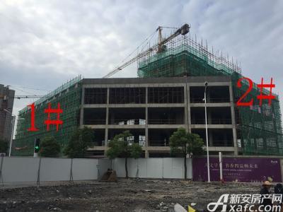 银湖义安学府1#、2#楼10月进度图(2016.10.24)