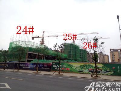 天景庄园24#—26#楼项目进度(2016.10.18)