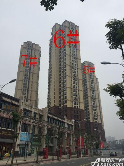 中航长江广场5#、6#、7#楼10月进度图(2016.10.19)