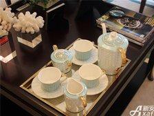 恒大绿洲恒大绿洲199㎡样板间茶几和茶具