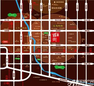 皇马·馫街配套图