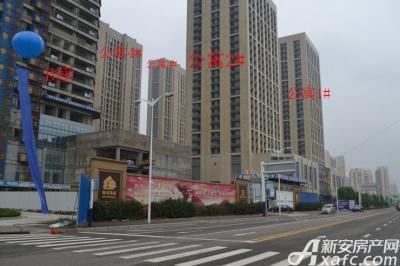 绿地中央广场公寓项目进度(2017.1)