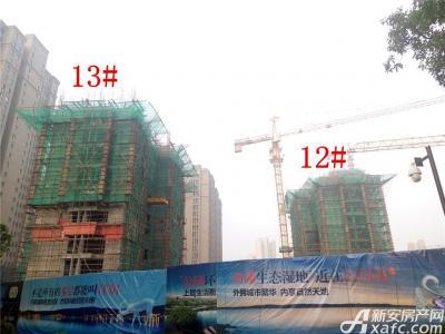 公园道壹号12#、13#楼项目进度(2016.11.14)