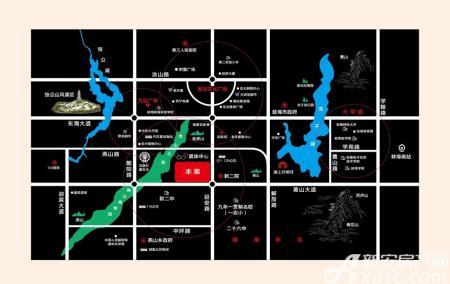 聚云商务广场配套图