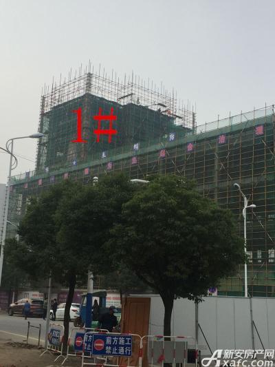 银湖义安学府1#楼11月份进度图(2016.11.18)