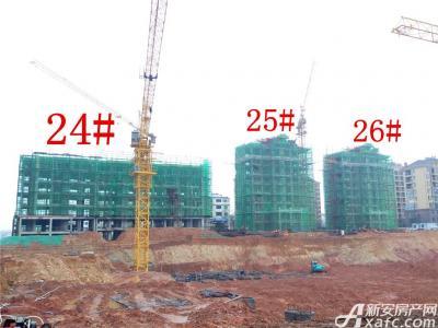 天景庄园24#—26#楼项目进度(2016.11.22)