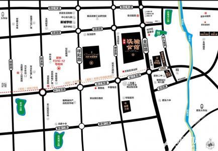 尚泽琪瑞公馆交通图