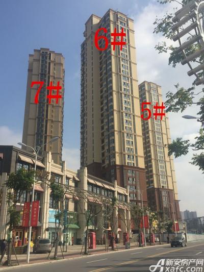 中航长江广场5#、6#、7#楼11月项目进度图(2016.11.25)