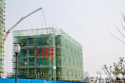 宇业天逸华府13#项目进度(2016.11.29)