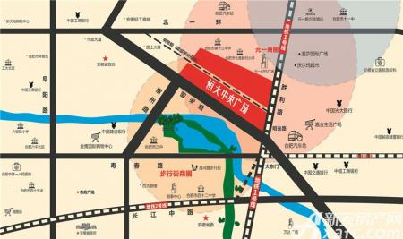 恒大中央广场KingSoho配套图