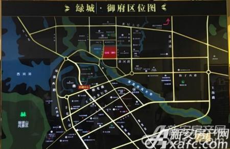 绿城御府交通图