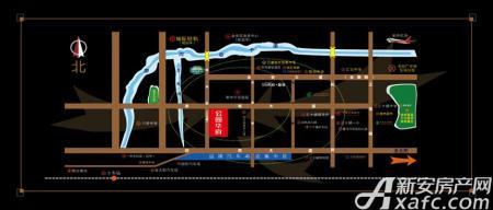 公园华府交通图